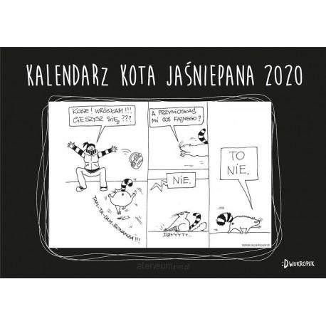 Kalendarz 2020 Ścienny - Kota Jaśniepana